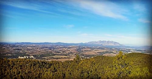 Cel clar sobre #Montserrat #Gelida #Penedès