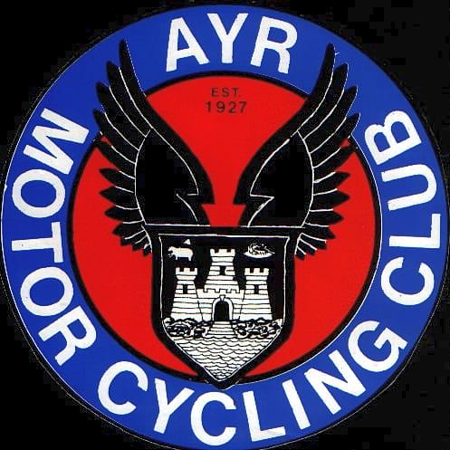 Ayr Motor Cycling Club Sticker