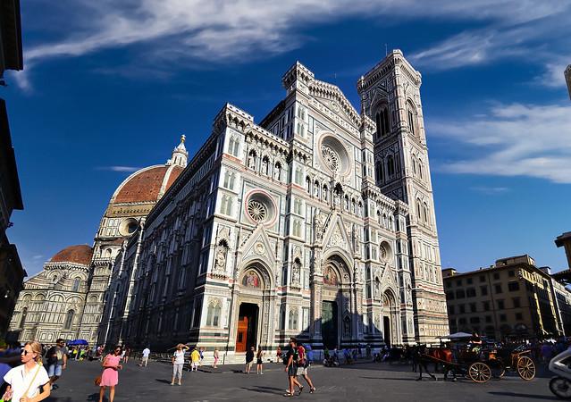 Cathedral of Santa Maria del Fiore, Firenze - Italia.