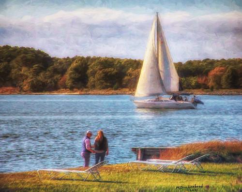 tredavonriver oxfordmaryland sailboat townofoxford oxfordmd maryland md sunset marylandeasternshore waterfronttown talbotcountymd hss