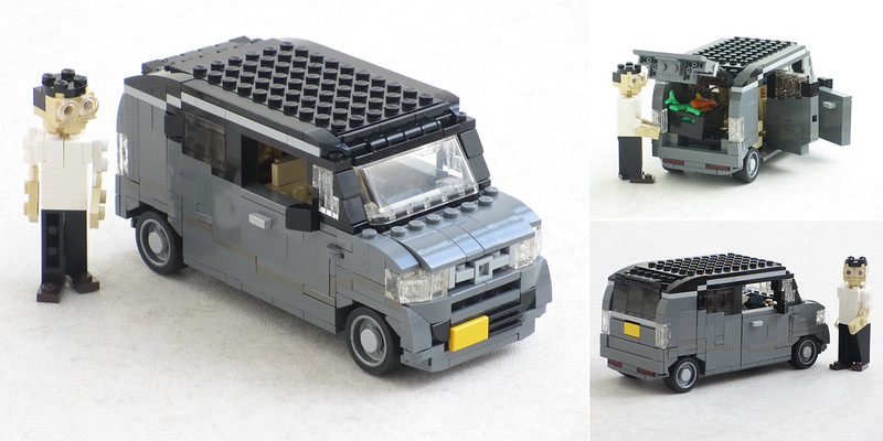 Honda N-Box Slash Kei car
