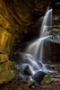 Broken Rock Trail Falls by Jim Crotty