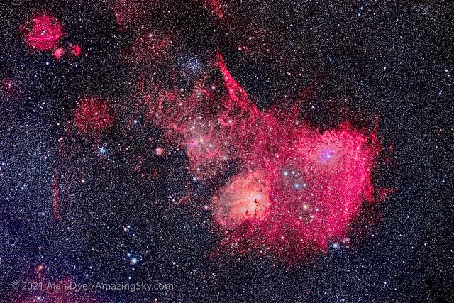The Nebulas of Auriga
