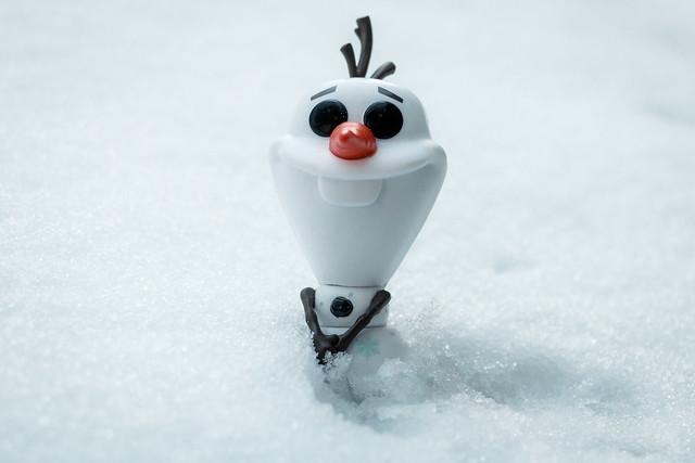 Olaf the Funko snowman