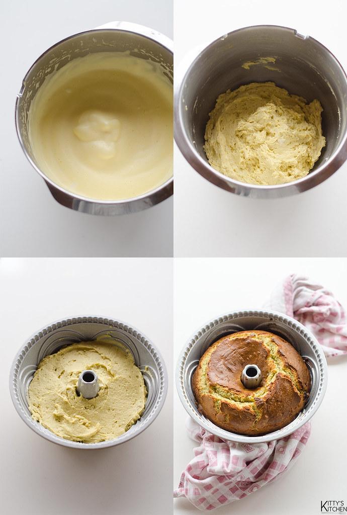 ciambella al formaggio blu e uvetta al passito