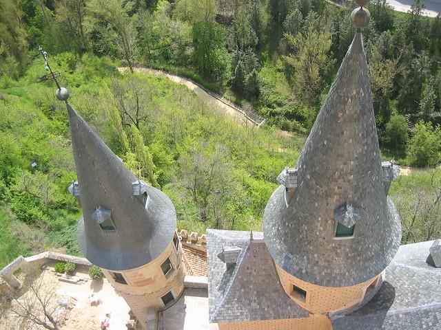 IMG_3008 im Alcázar de Segovia wohnten im Mittelalter die kastilischen Könige, 20.4.2006