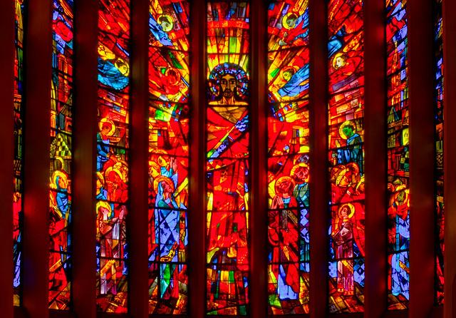 Herrenberg, St. Joseph Chorfenster