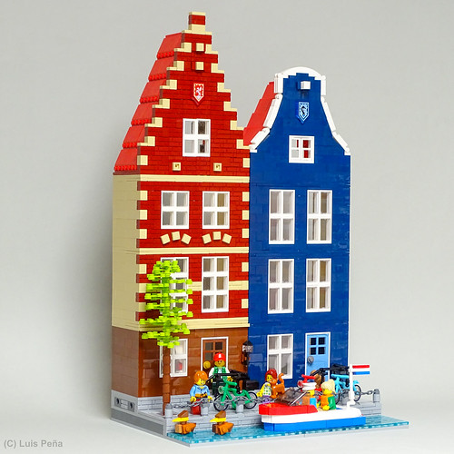 Canal Ring Houses, Amsterdam
