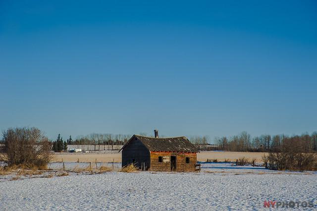 Abandoned Farmstead Barn