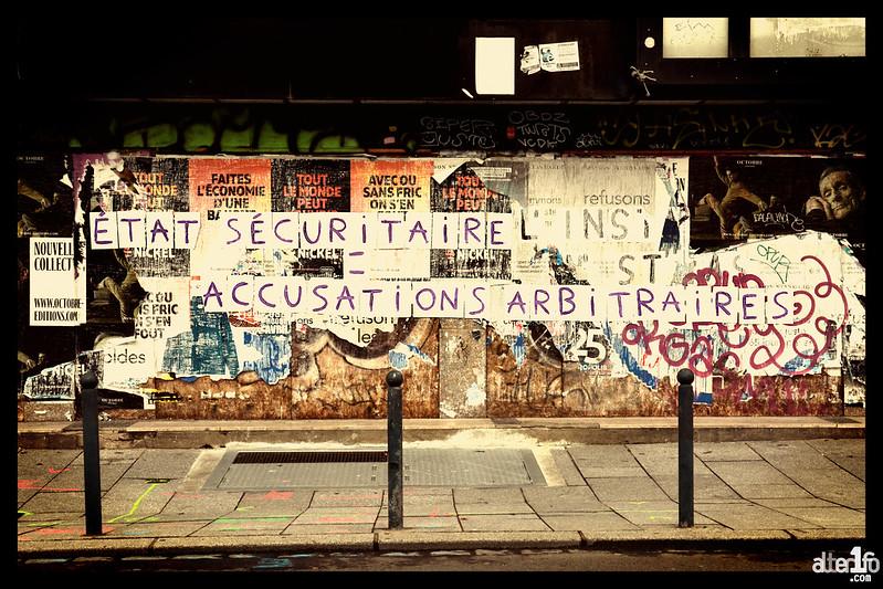 [16 janvier 2021] – Un jour, une photo : « Etat sécuritaire, accusations arbitraires »