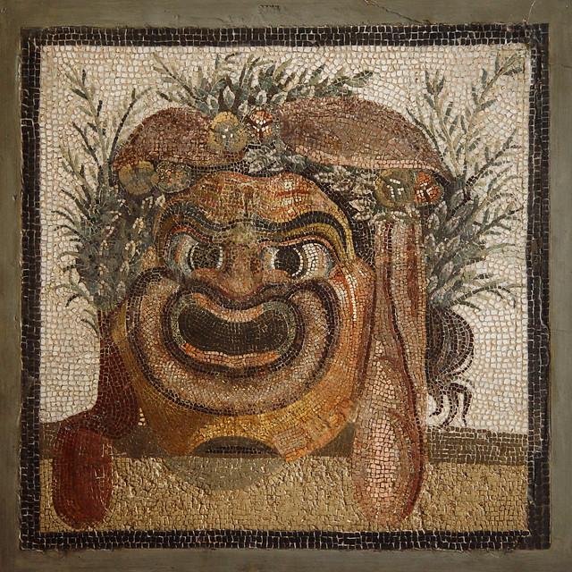 Roman Theater: Comedy Mask