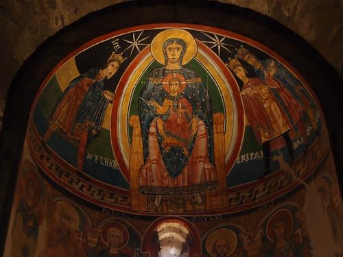 Frescos de la Iglesia de Santa María de Tahull