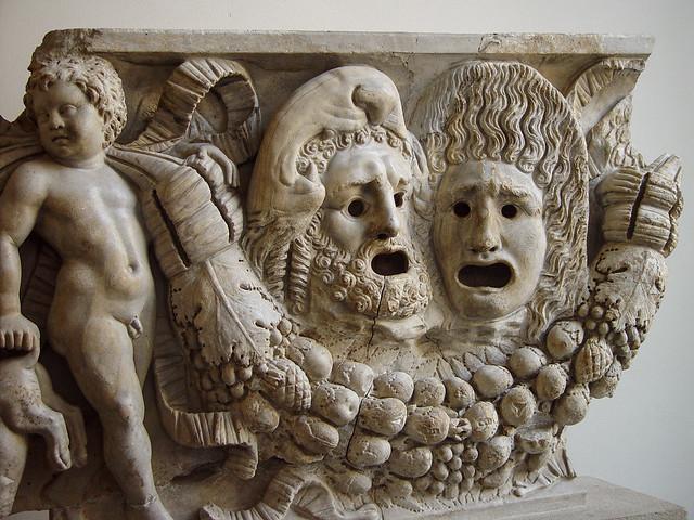Tragic Roman Masks