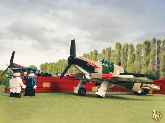 Lego Hawker Hurricane