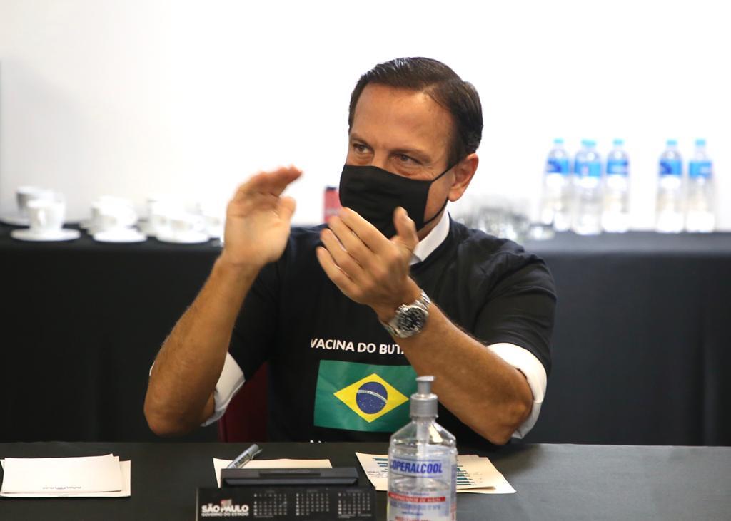 Início da Vacinação no Estado de São Paulo