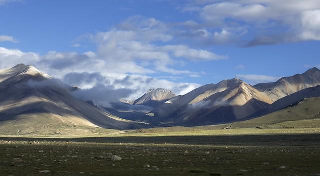 Saga county landscape, Tibet 2019