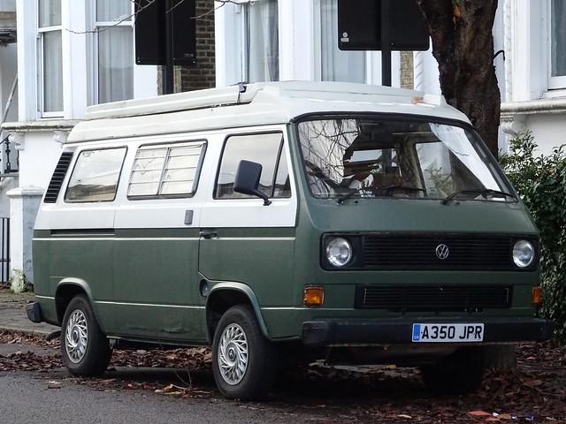1983 Volkswagen Transporter T3 Camper Van