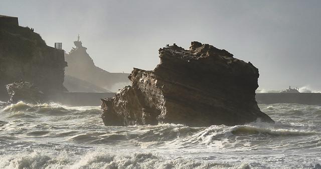La vierge de Biarritz