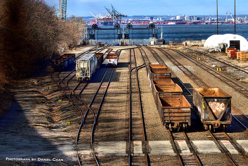 The 65th Street Rail Yard in Sunset Park, Brooklyn
