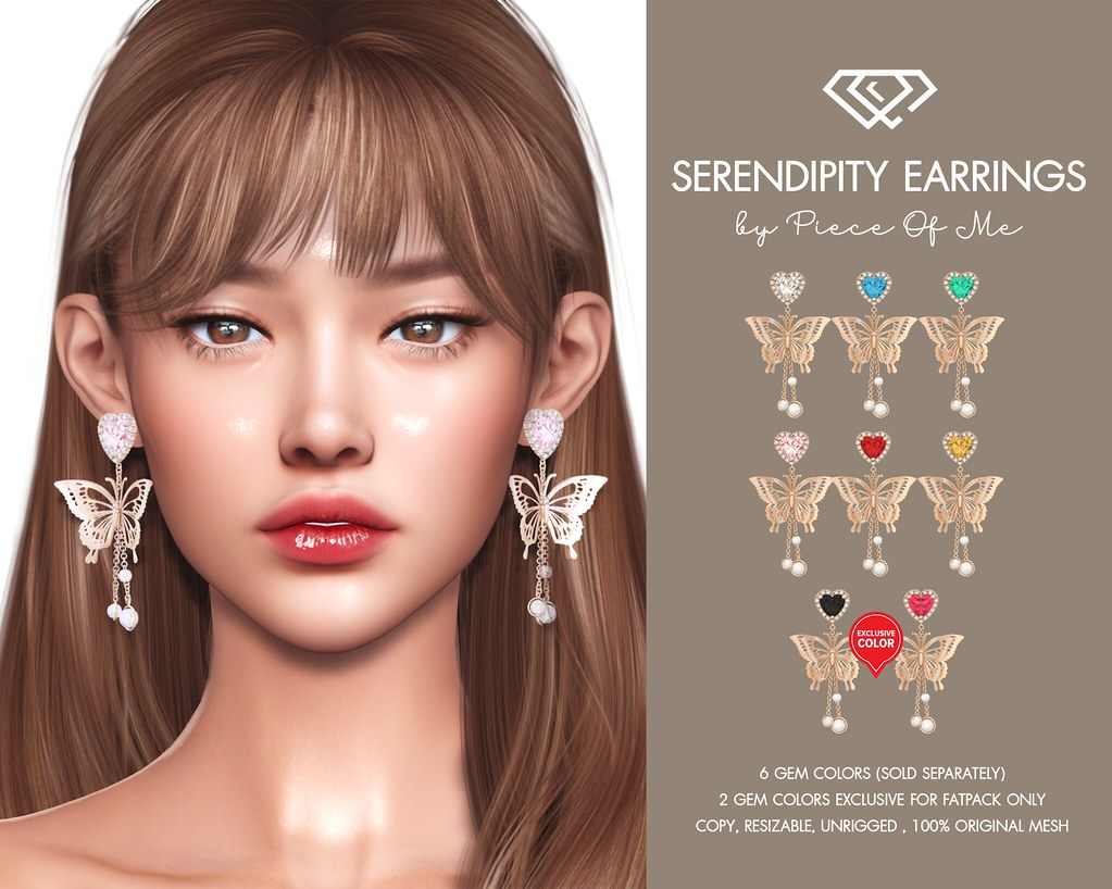 Serendipity Earrings @ Harajuku Event – Round 28th on January 20th