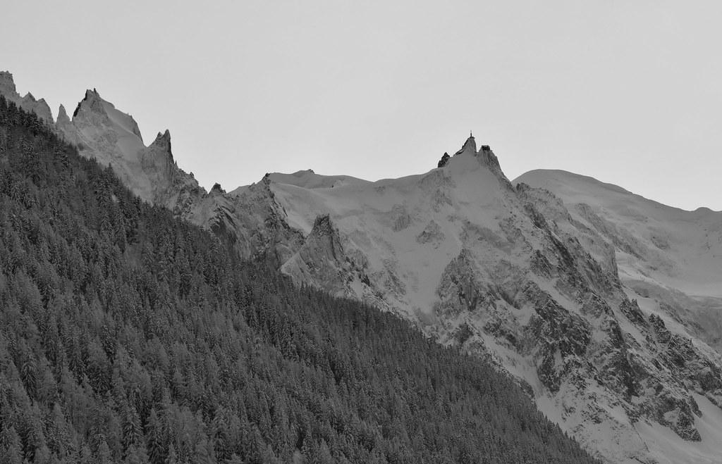 Aiguille du Midi et Mont Blanc
