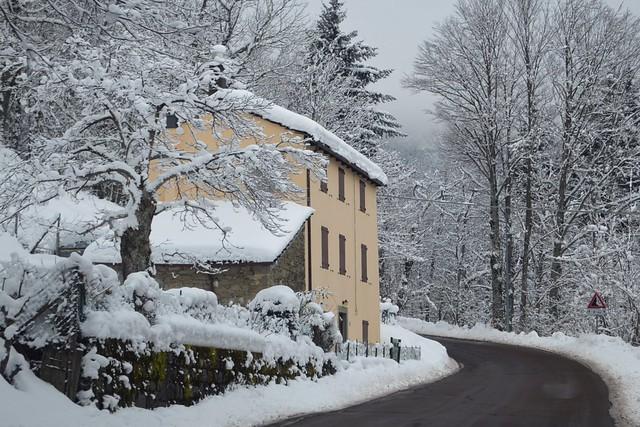 Parco regionale del Corno alle Scale: una casa nei pressi della località La Cà di Vidiciatico (Lizzano in Belvedere, Bologna), Explore Jan 18, 2021 #409
