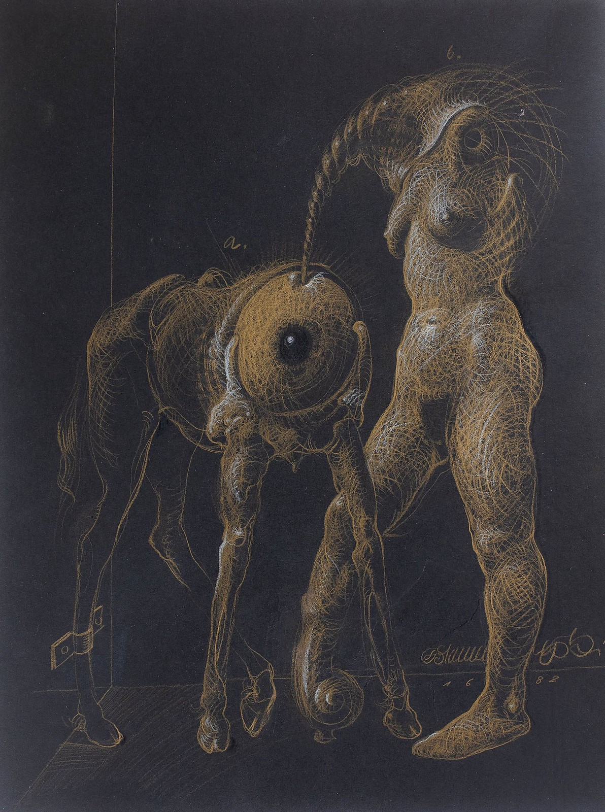 Franciszek Starowieyski - Untitled, 1982