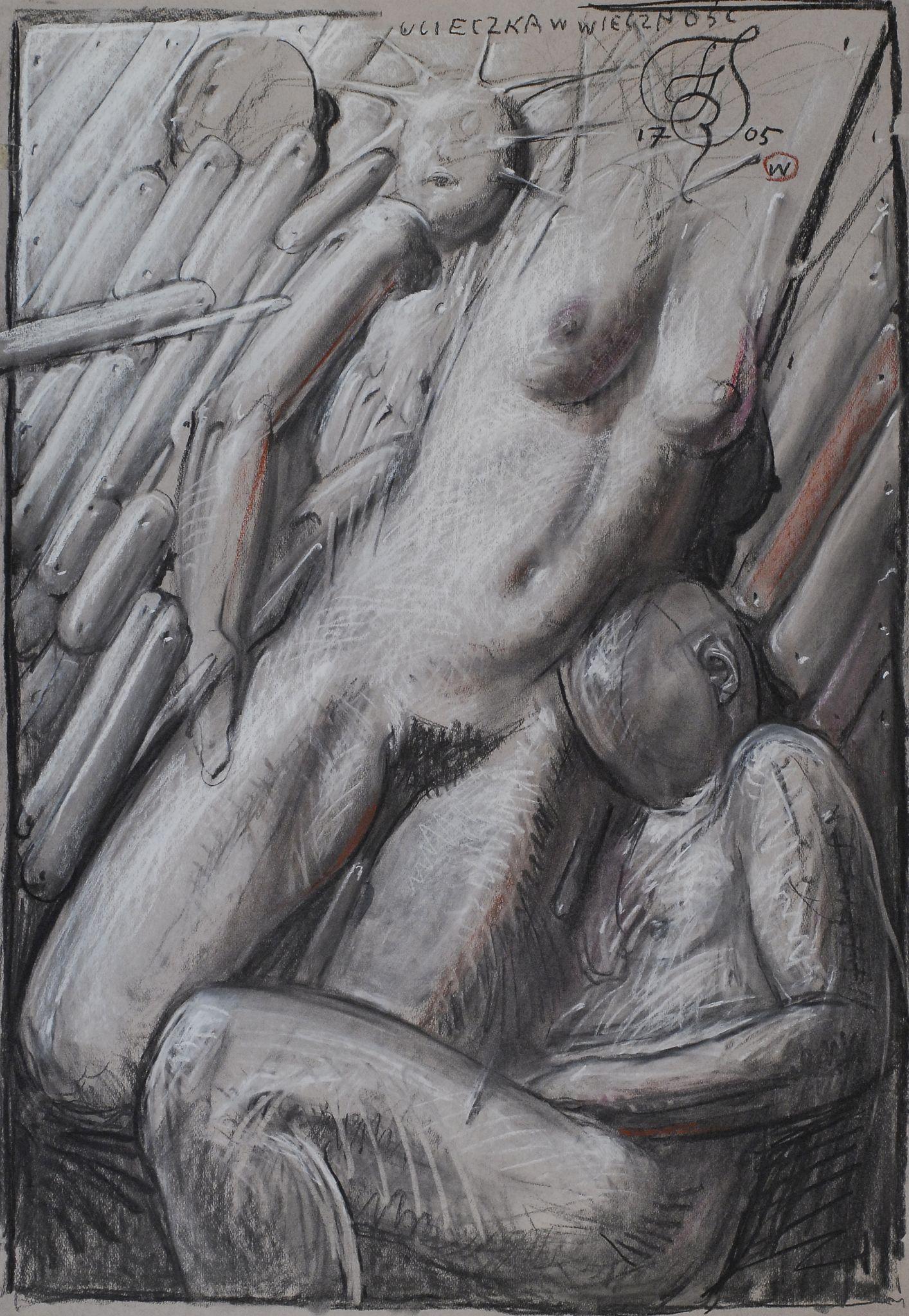 Franciszek Starowieyski - Ucieczka w wieczność, 2005