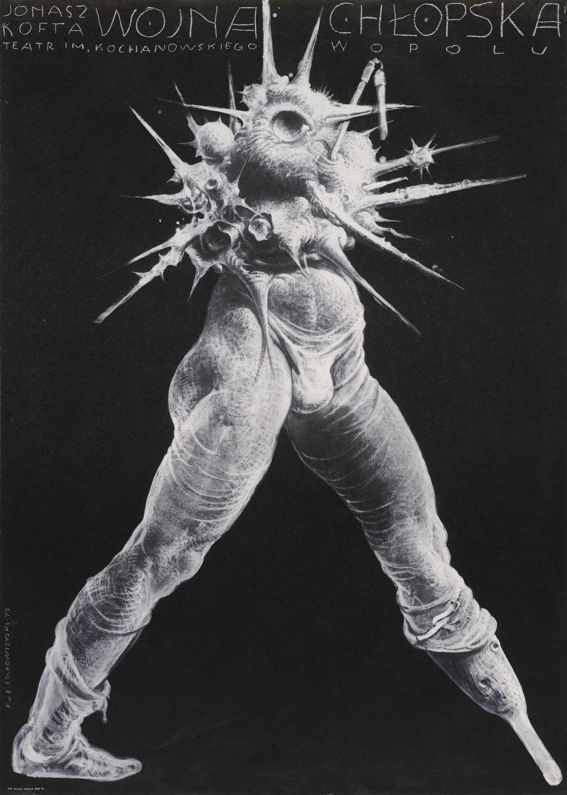 Franciszek Starowieyski - Wojna Chlopska, 1979