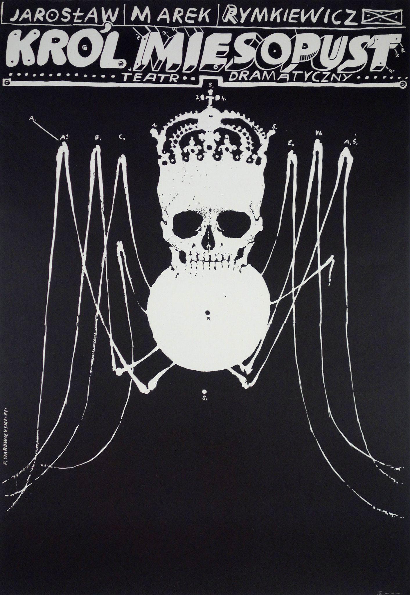 Franciszek Starowieyski - Krol Miesopust, 1971