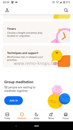 Headspace App for Google Android 205949
