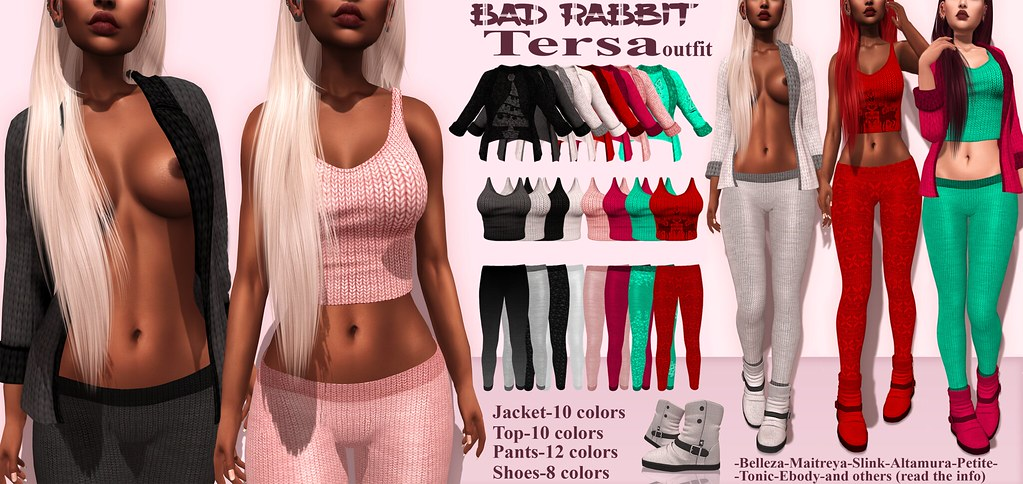 .:Bad Rabbit:. Tersa outfit CONTEST GIVEAWAY