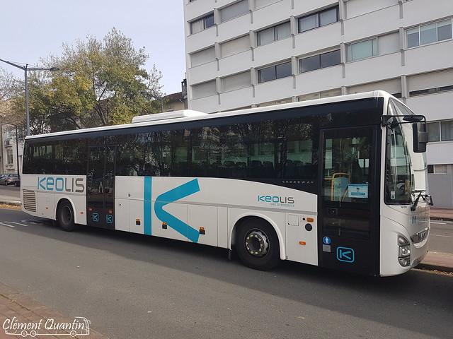 IVECO Crossway Pop - 161002 / Keolis Cars de Bordeaux