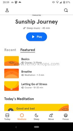 Headspace App for Google Android 205925