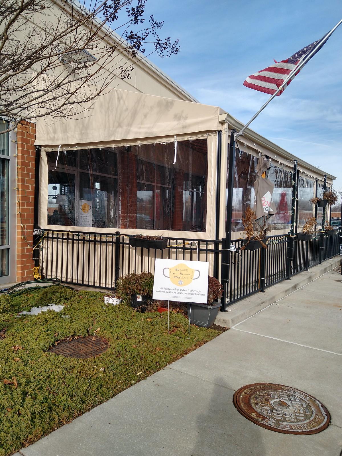 Clear Curtains-Restaurant Baltimore