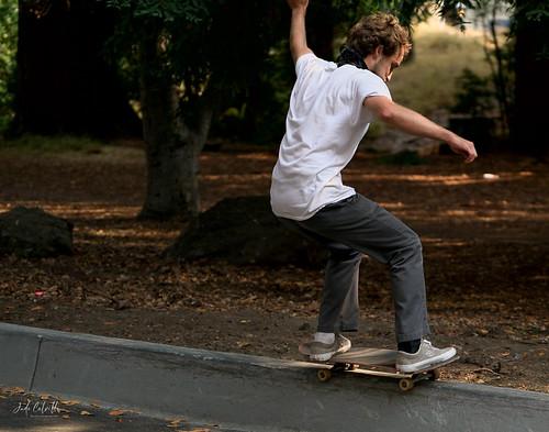 UC Berkeley skater skateboarding
