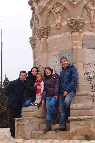 Con Helen en Alguaire