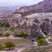 View of Cappadocia landscape
