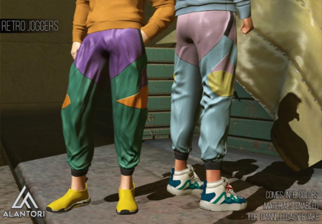 ALANTORI | Retro Joggers