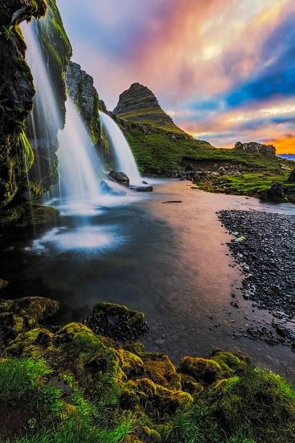 Sunrise Kirkjufell