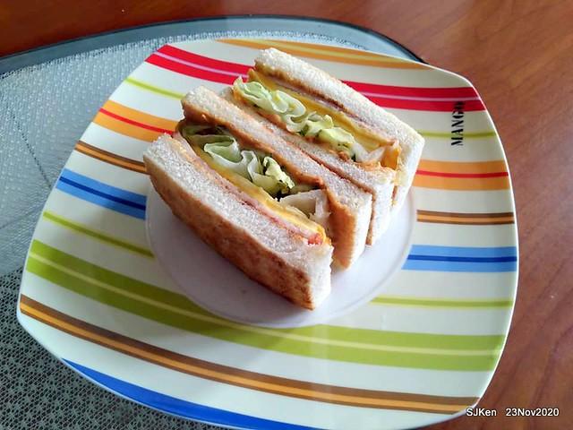 Toast , sandwich & coffee shop, 「高三孝南港店」, Taipei, Taiwan, SJKen, Nov 23,2020.