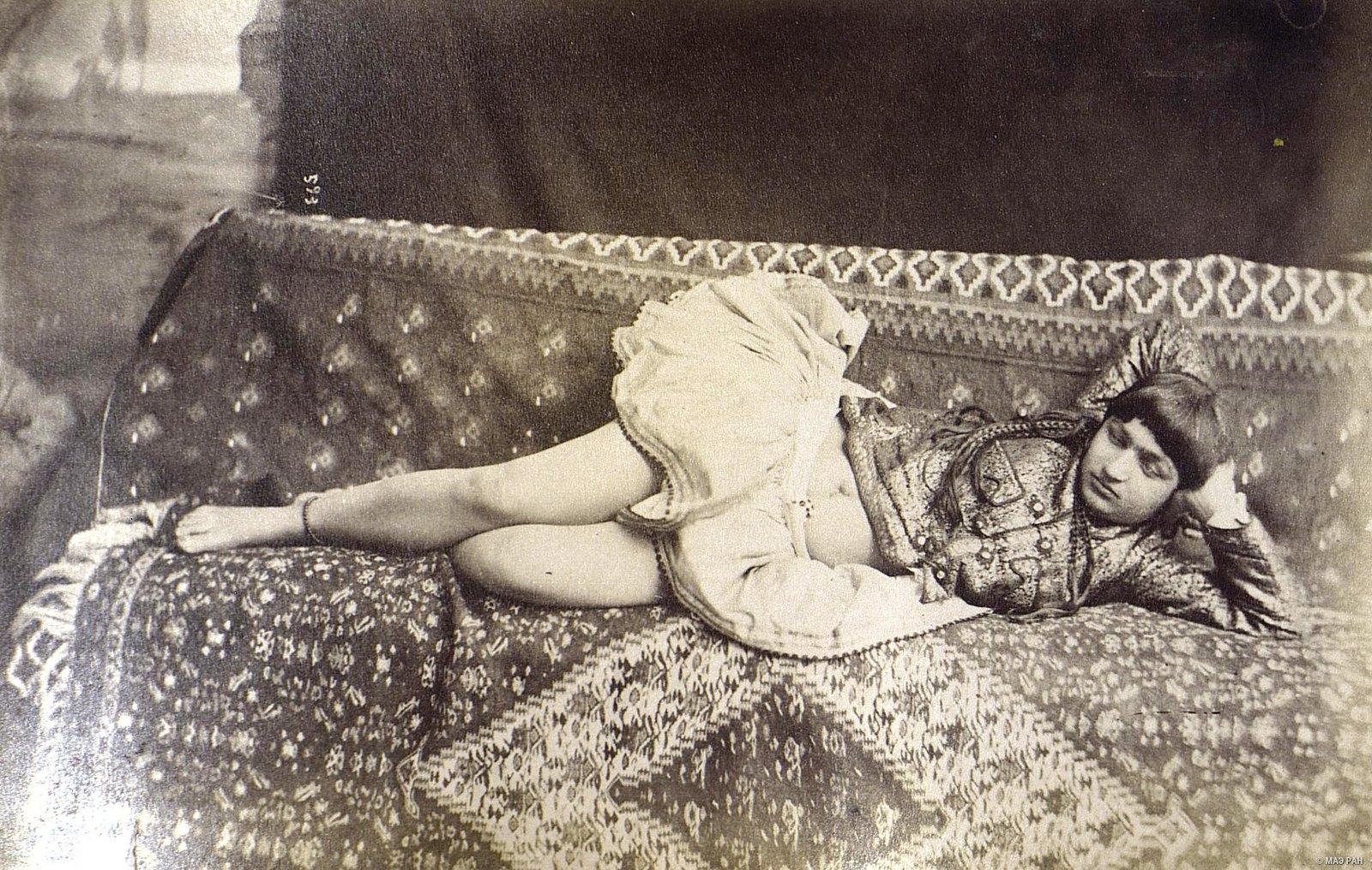 Иранка в домашнем костюме4