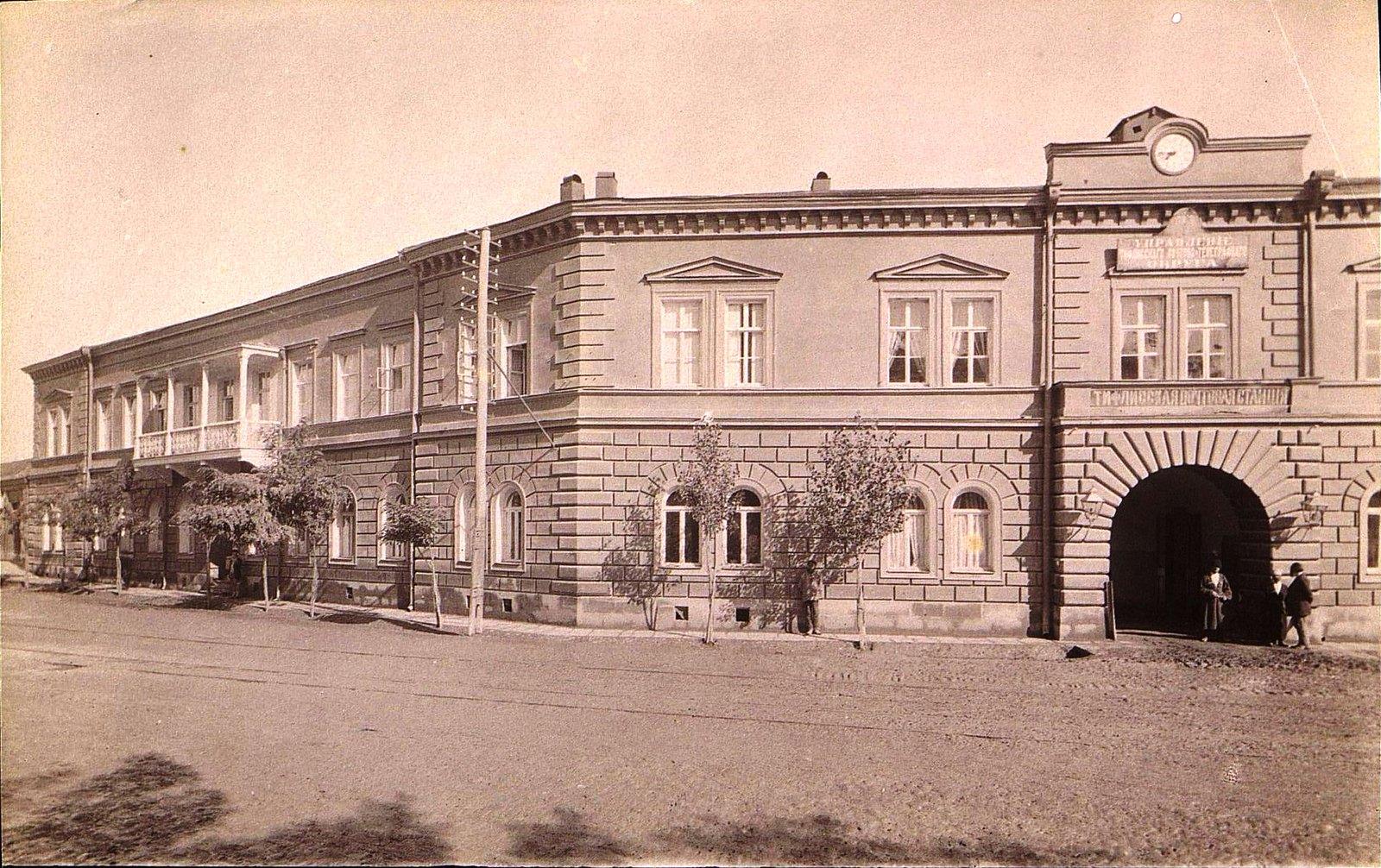Здание разгонной почты