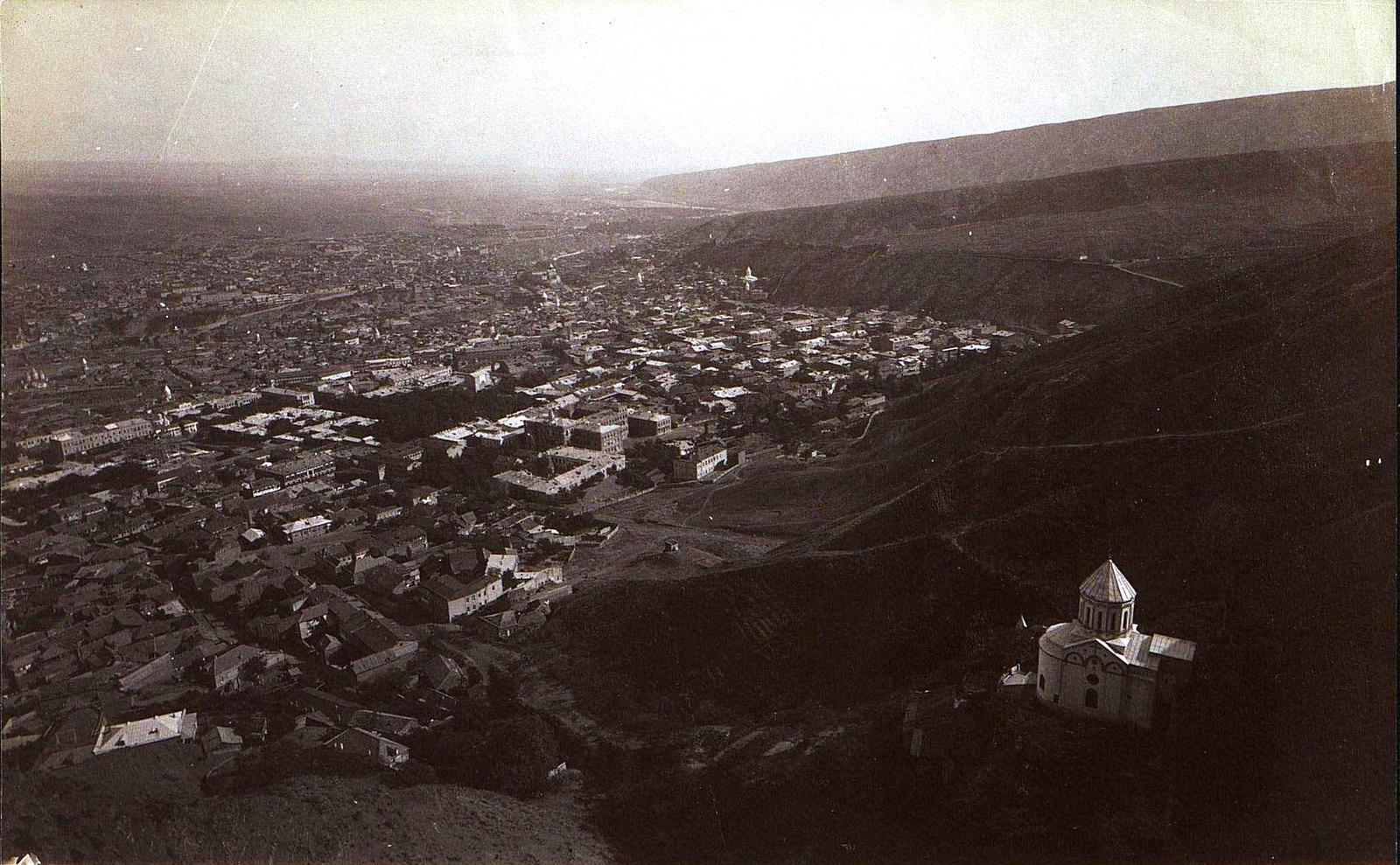 Главная часть города и церковь св. Давида