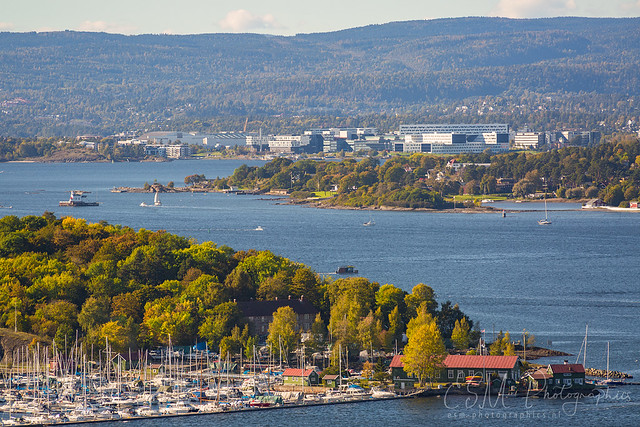 Oslo fjord view