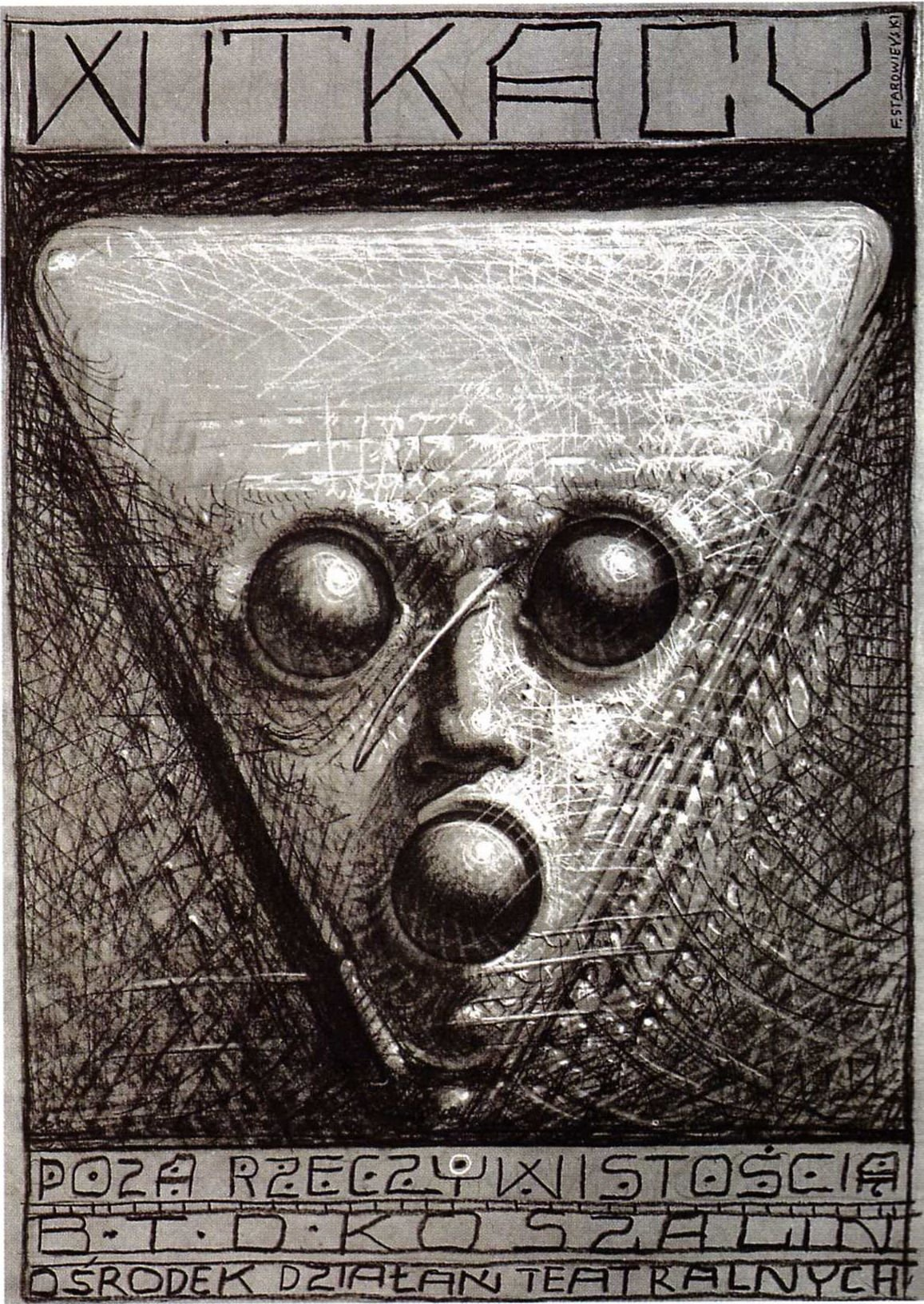 Franciszek Starowieyski - Beyond Reality, 1981