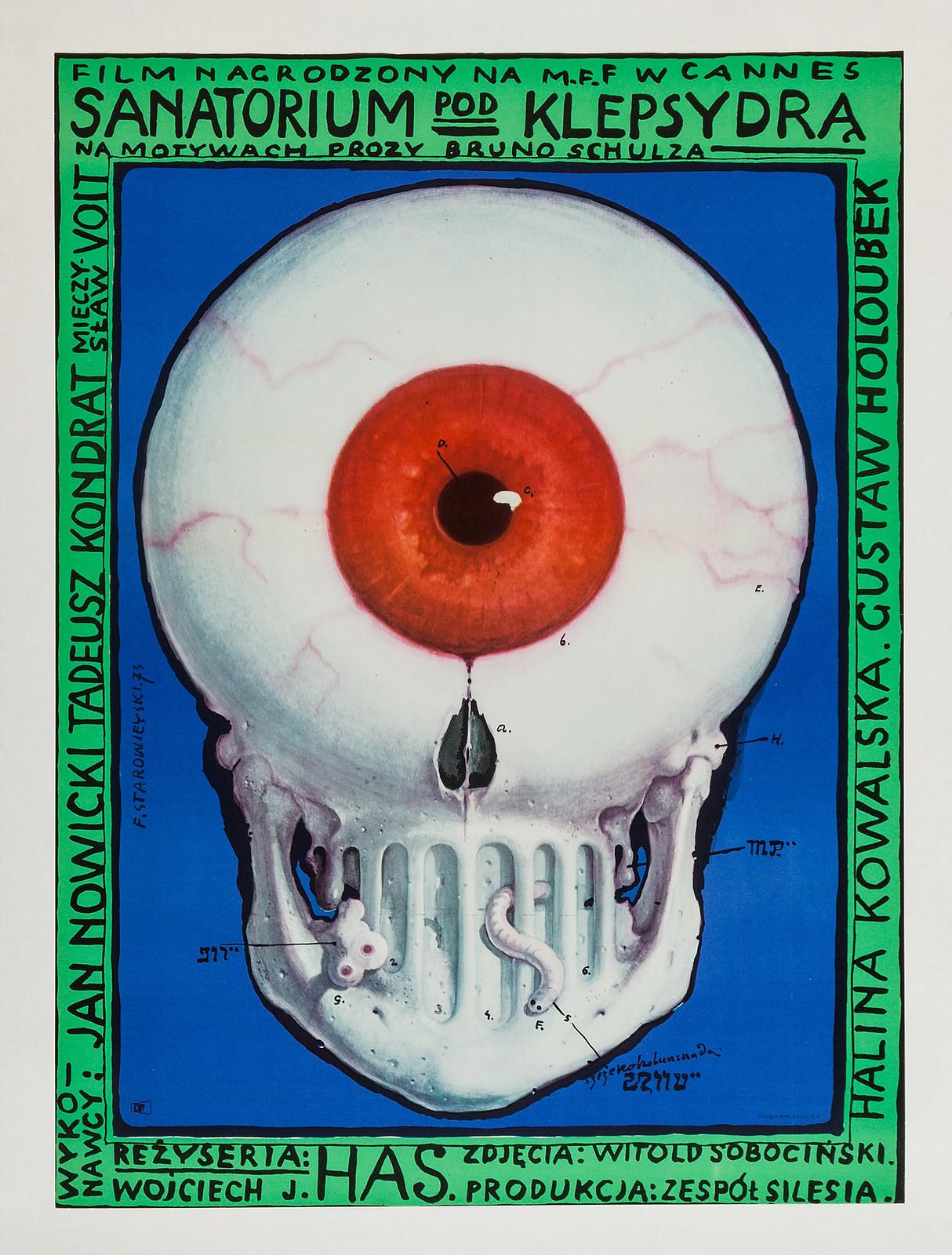 Franciszek Starowieyski - The Hourglass Sanatorium, 1973