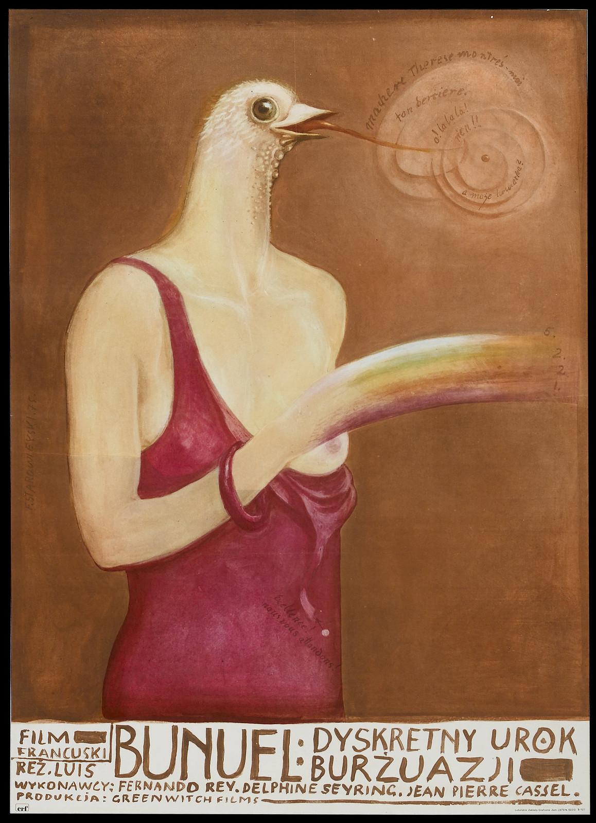 Franciszek Starowieyski - The Discreet Charm of the Bourgeoisie, 1972