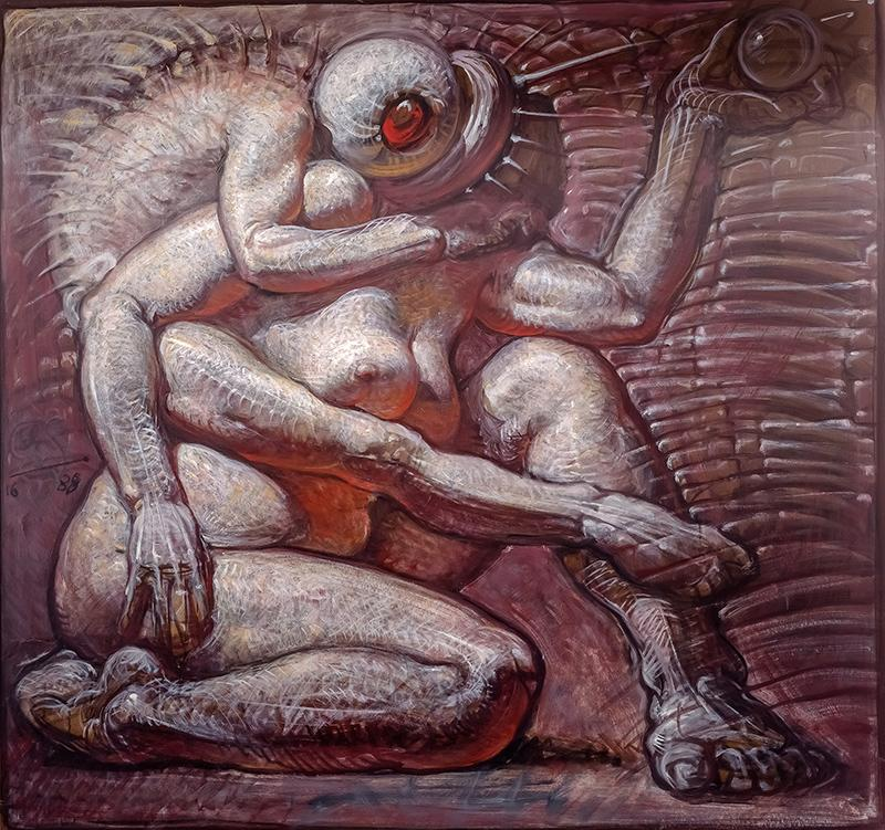 Franciszek Starowieyski - Untitled, 1988