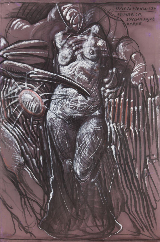 Franciszek Starowieyski - Panel 2, Teatr Rysowania nr 20. Przeciw Beckettowi, 1995